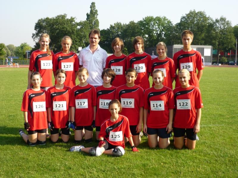 Teamfoto DM Rennen 2010