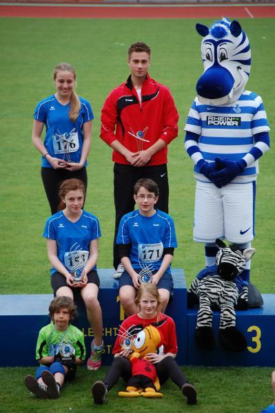 Gesamtsieger Zebra-CUP 2013